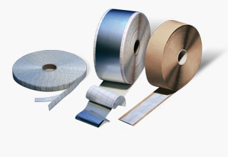 Butyl- and bitumen tapes