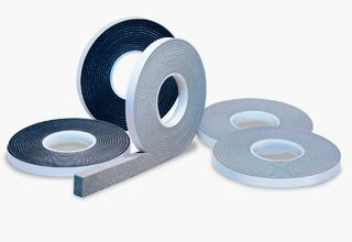 Pre-compressed joint sealing tapes
